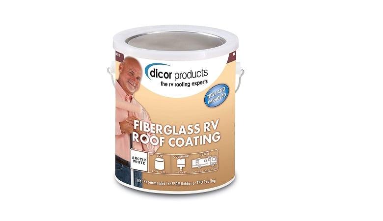Dicor Fiberglass Roof Coating