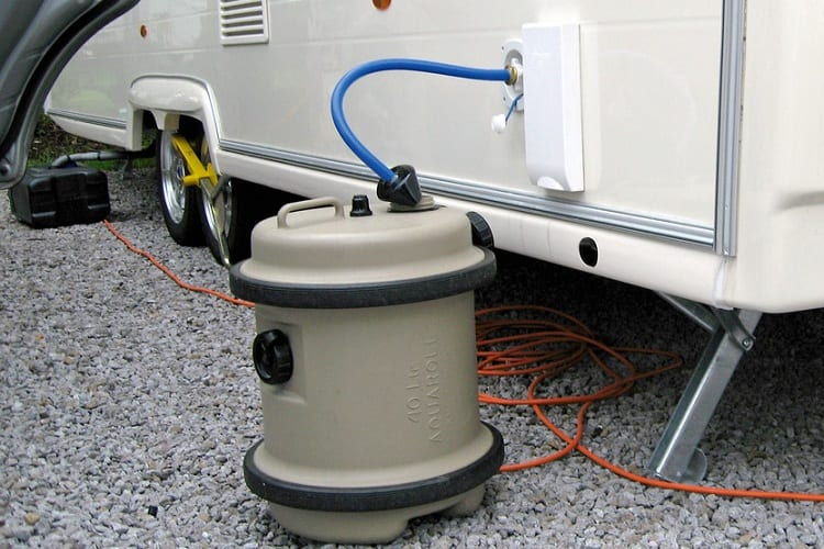 Why Should You Clean an RV Water Tank?
