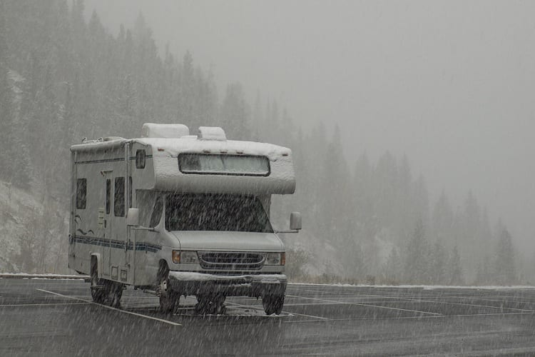 HOW DO YOU TRAVEL IN AN RV IN THE WINTER?