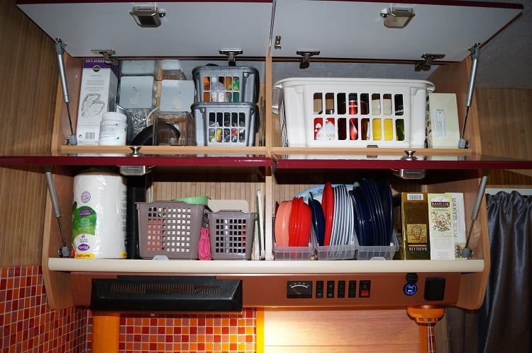 HOW DO YOU STORE THINGS IN AN RV?