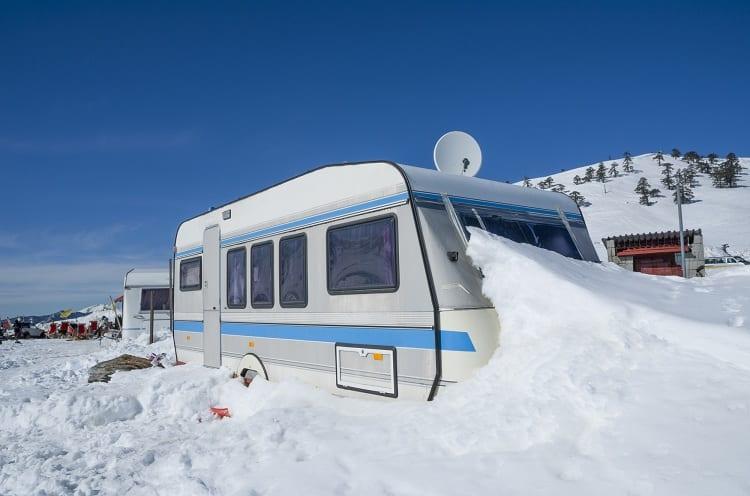 RV Storage During Winter