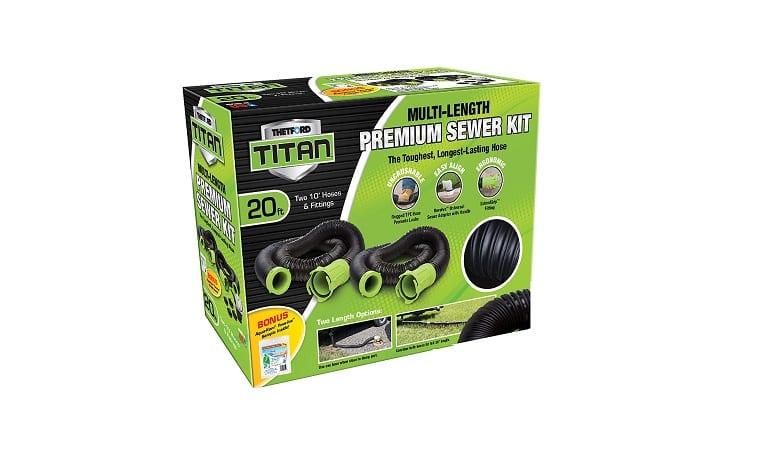 Titan Premium Sewer Hose Kit