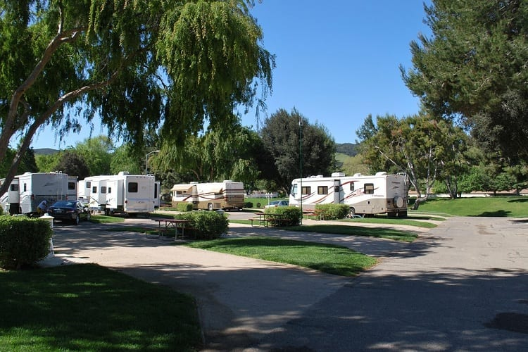 #9 Flying Flags RV Park: Buellton, California