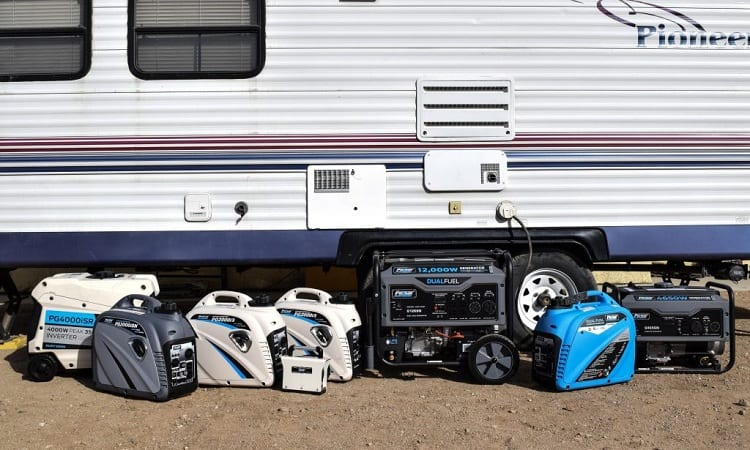 WHAT SIZE GENERATOR DO I NEED FOR RV?
