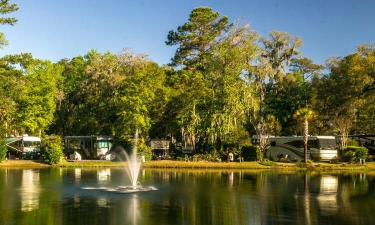 #2 Hilton Head Motorcoach Resort: Hilton Head, South Carolina