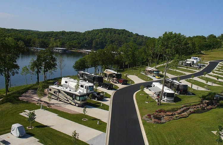 #1 Ozarks RV Resort on Table Rock Lake: Oak Grove, Arkansas