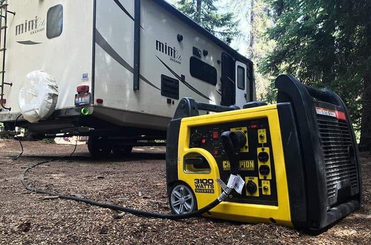 HOW BIG OF A GENERATOR DO I NEED FOR MY RV?