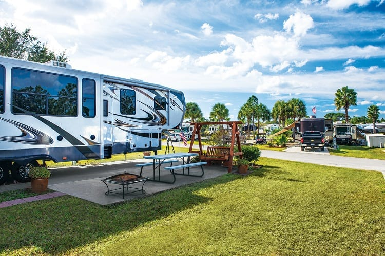 WHAT CAN I EXPECT AT AN RV PARK?