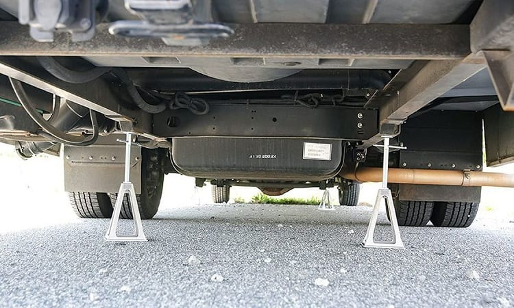 HOW DO I STOP MY RV FROM ROCKING?