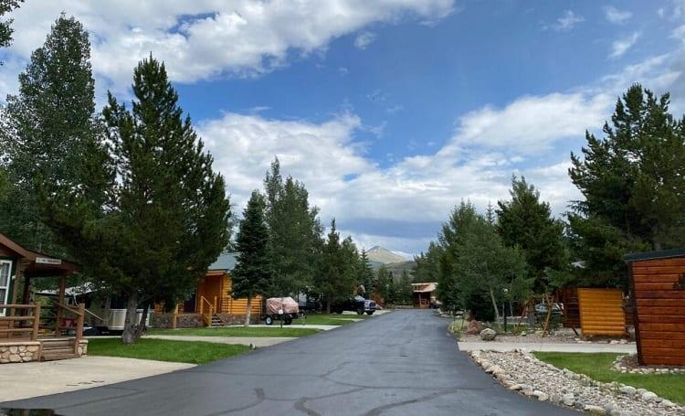 #10 Tiger Run RV Resort: Breckenridge, Colorado