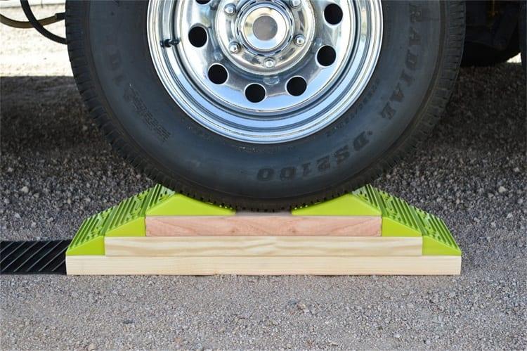 Making DIY Leveling Blocks