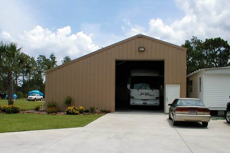 Must-Have Features for an RV Garage